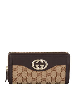 Gucci Continental Zip-Around Wallet