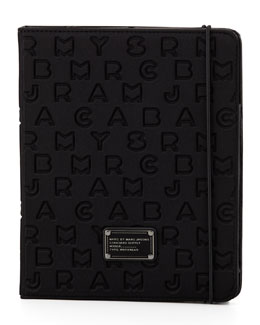 MARC by Marc Jacobs Dreamy Logo Neoprene Tablet Case, Black