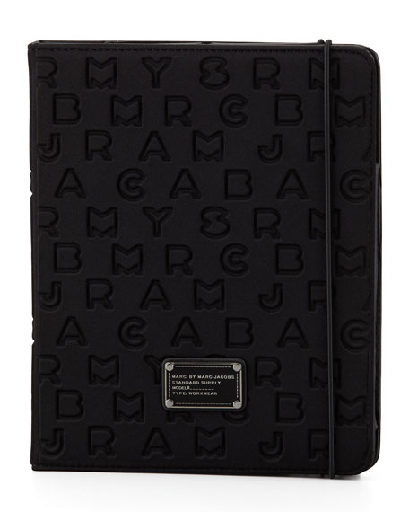 Dreamy Logo Neoprene Tablet Case, Black