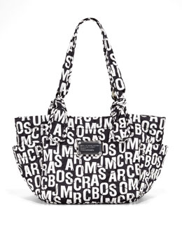MARC by Marc Jacobs Pretty Nylon Kristine Logo-Print Tote Bag
