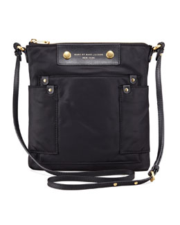MARC by Marc Jacobs Preppy Nylon Sia Crossbody Bag, Black