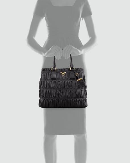 Napa Gaufre Large Zip-Top Tote Bag