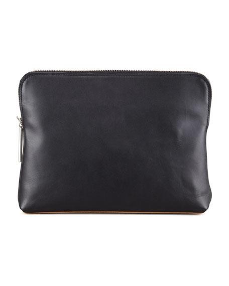 31 Minute Cosmetic Bag, White/Black