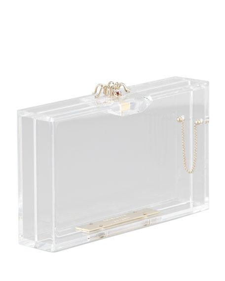 Pandora Spider Box Clutch