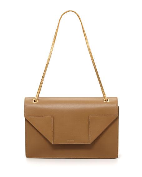 Betty Medium Chain Bag, Beige