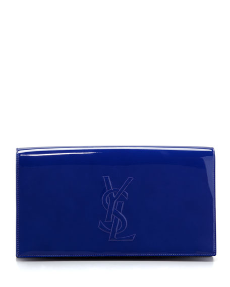 Belle De Jour Large Clutch Bag, Blue