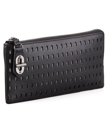 T-Pin Turnlock Wallet, Black