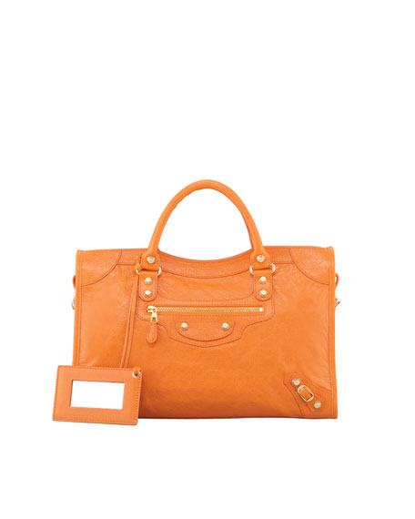 Giant 12 Golden City Bag, Tangerine
