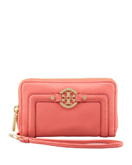 Tory Burch Amanda Phone Wristlet Bag, Strawberry
