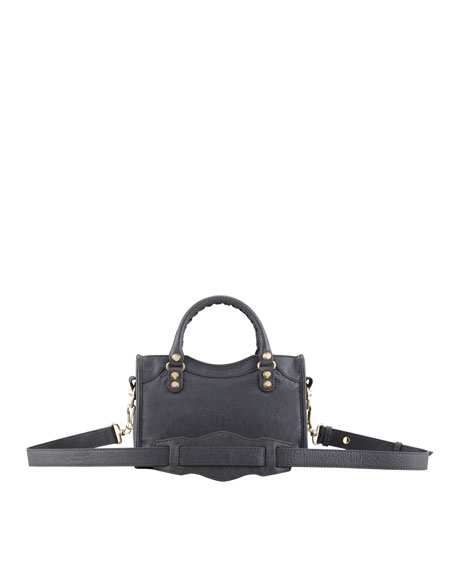 Mini Giant 12 Golden City Bag, Gris Tarmac