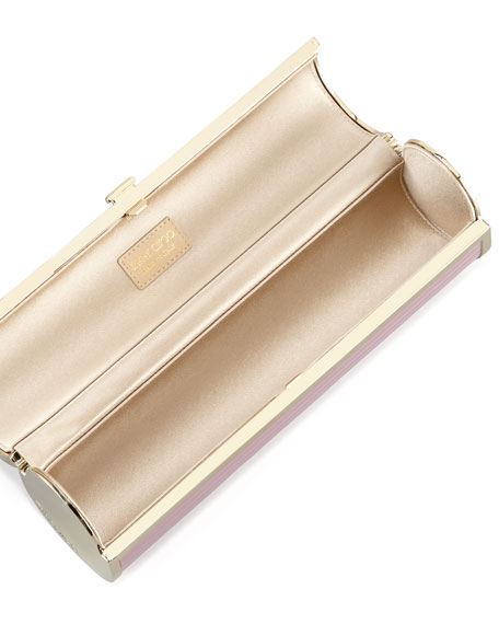 Cosma Disco Bars Cylinder Clutch Bag