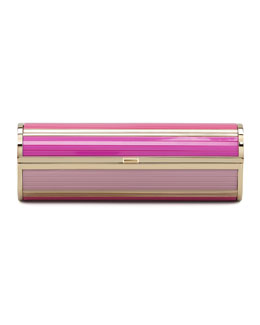 Jimmy Choo Cosma Disco Bars Cylinder Clutch Bag