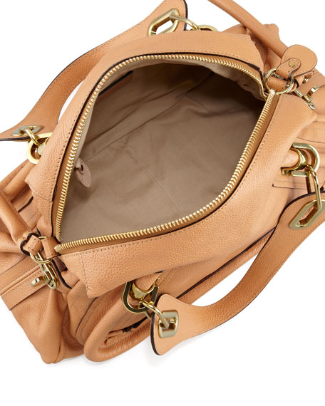 Paraty Medium Shoulder Bag, Light Tan