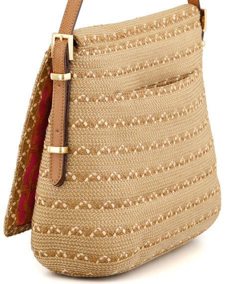 Squishee Law Shoulder Bag, Natural Mix