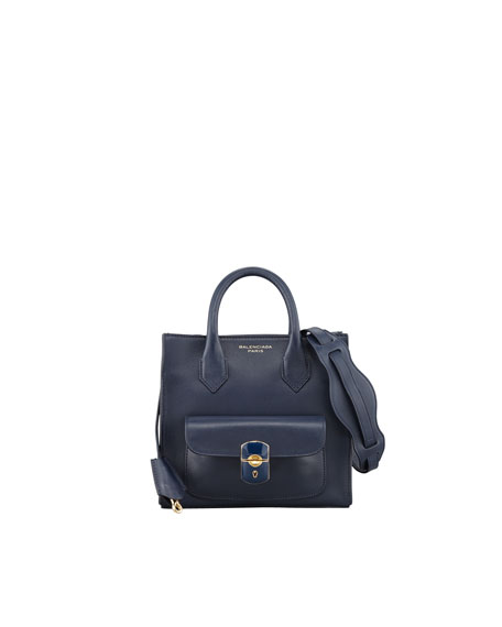 Padlock Mini Crossbody Bag, Marine/Navy