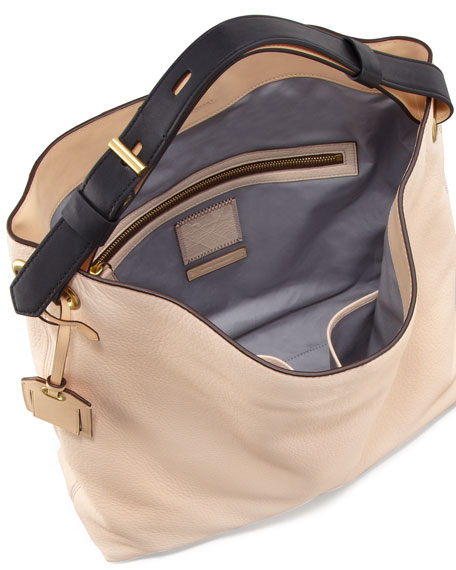 RDK Leather Hobo Bag, Shell