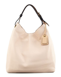 Reed Krakoff RDK Leather Hobo Bag, Shell