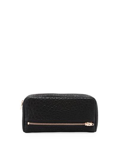 Alexander Wang Fumo 3/4-Zip Continental Wallet, Black