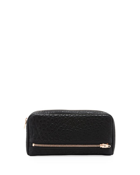 Alexander Wang Fumo 3/4-Zip Continental Wallet, Black