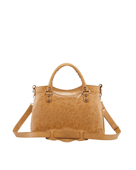 Giant 12 Rose Golden Town Bag, Cumin