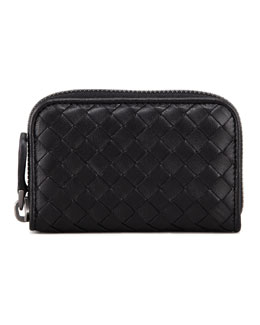 Bottega Veneta Mini Zip Around Wallet