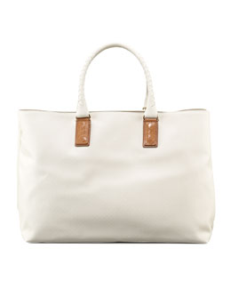 Bottega Veneta Woven-Handle Tote