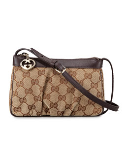 Gucci Mini Zip-Top Crossbody Bag