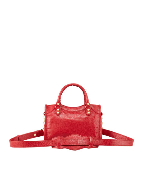 Giant 12 Golden Mini City Bag, Rouge Cardina