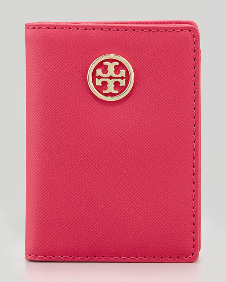 Robinson Transit Pass Holder, Rouge Red