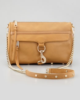 Rebecca Minkoff MAC Clutch Crossbody Bag, Tawny