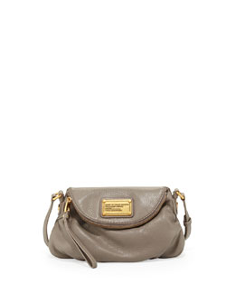 MARC by Marc Jacobs Classic Q Natasha Mini Crossbody Bag, Warm Zinc