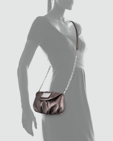 Classic Q Karlie Crossbody Bag, Gunmetal