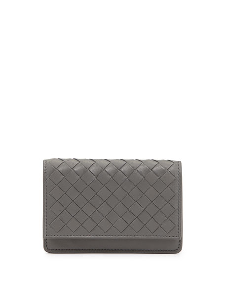 Bottega Veneta 5/6 Credit Card Flip Case, New