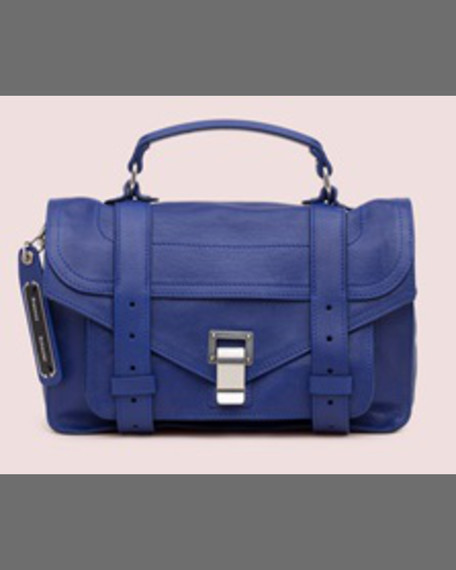 Proenza Schouler PS1 Mini Calfskin Mailbag, Oxblood