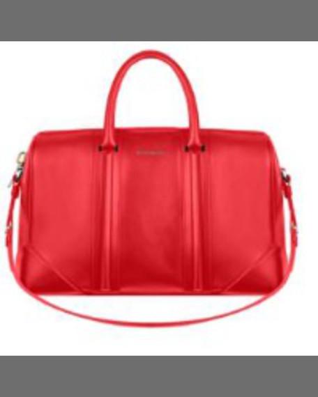 Givenchy Lucrezia Micro Crossbody Bag, Medium Red