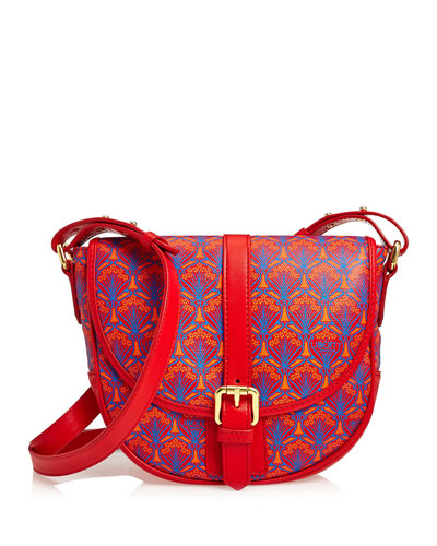 Carnaby Iphis Printed Crossbody Bag, Red