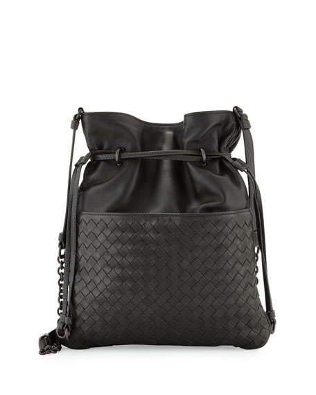 Bottega Veneta Intrecciato Medium North-South Bucket Bag