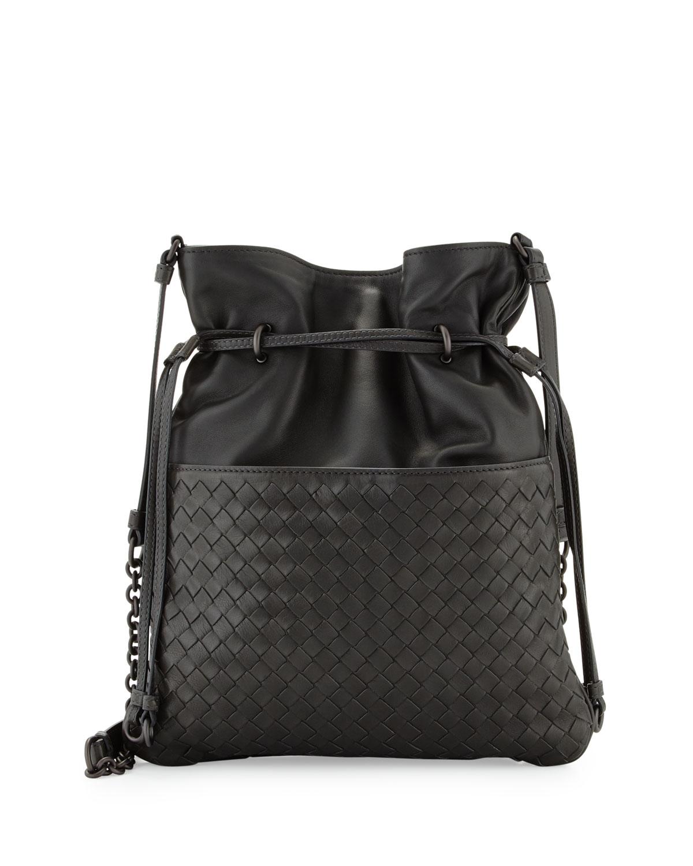 1ec2393bc05a Bottega Veneta Intrecciato Medium North-South Bucket Bag