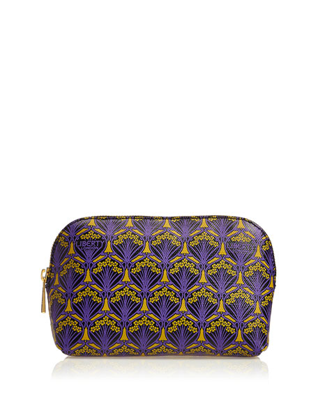 Liberty London Iphis Printed Canvas Cosmetics Bag