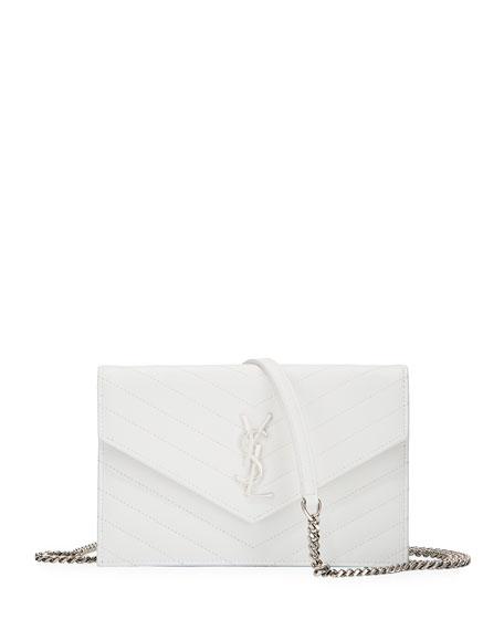 Monogram Matelasse Wallet on a Chain Bag