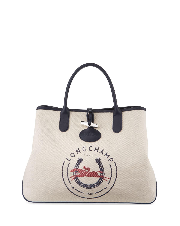 Longchamp Roseau Longchamp 1948 Large Tote Bag  3d451c3ffda3d