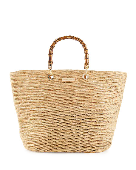Heidi Klein Savannah Bay Medium Raffia Beach Tote