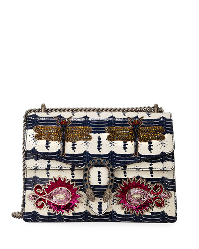 Dionysus Medium Snakeskin Shoulder Bag