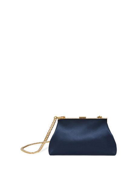 Mini Volume Silk Clutch Bag