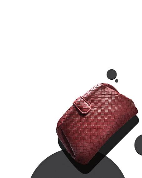 Lauren Napa Intrecciato Clutch Bag