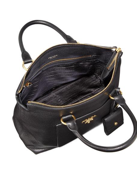 Vitello Daino Zip Tote Bag