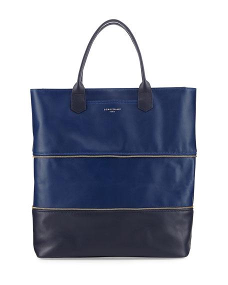 longchamp longchamp 2 0 expandable tote bag. Black Bedroom Furniture Sets. Home Design Ideas