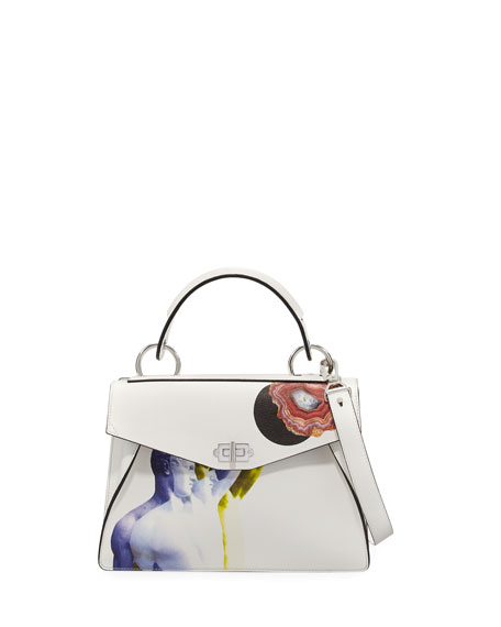 Proenza Schouler Hava Medium Printed Top Handle Bag