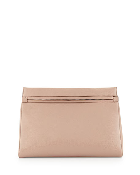 Alix Small Zip & Padlock Clutch Bag