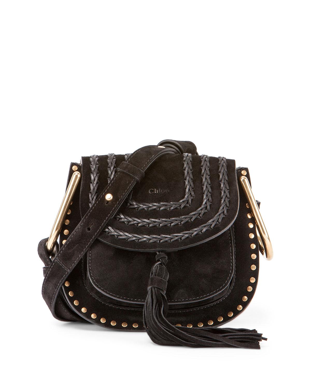cd13ae3f3b Chloe Hudson Mini Suede Shoulder Bag | Neiman Marcus